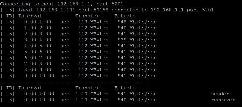 TP-Link LS108G, análisis 38