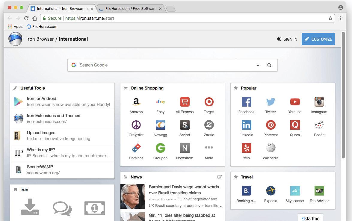 10 alternativas Chromium para los que buscan la tecnología de Chrome sin Google 38