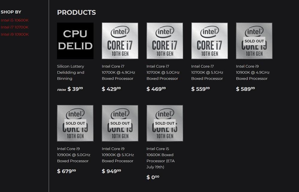 Core i9 10900K