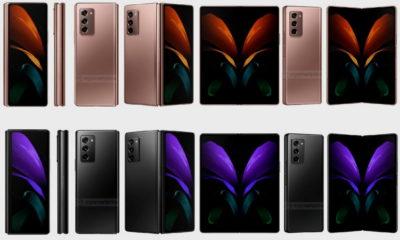 Nuevos renders de prensa nos muestran el Galaxy Z Fold 2 5G con todo lujo de detalles 41
