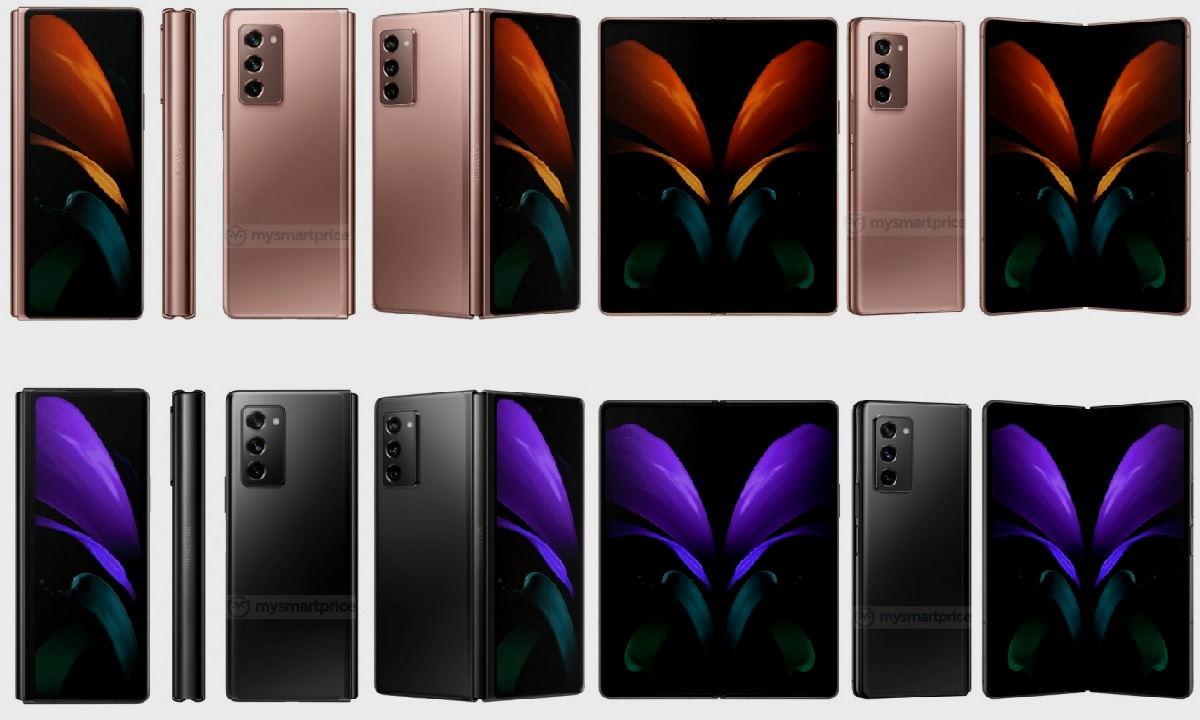 Nuevos renders de prensa nos muestran el Galaxy Z Fold 2 5G con todo lujo de detalles 28
