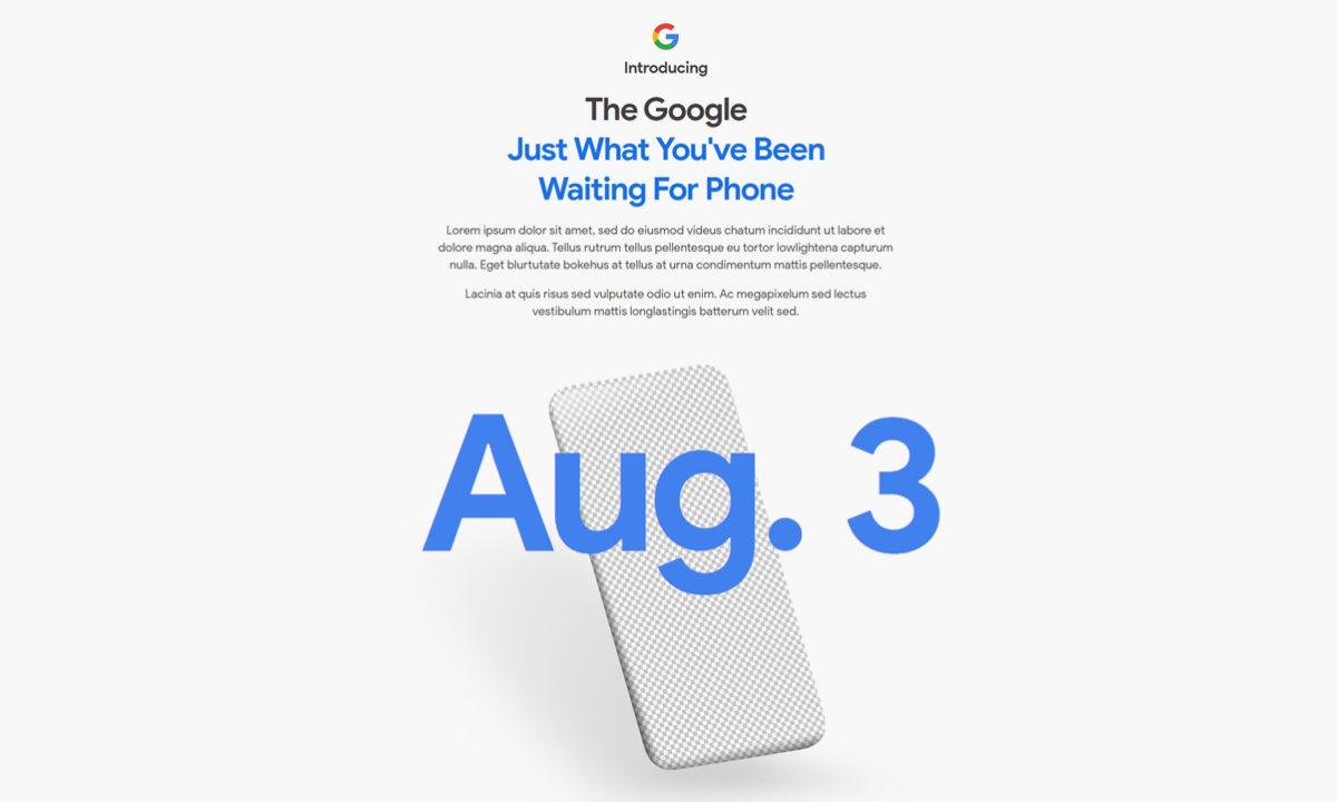 Google Pixel 4a fecha lanzamiento oficial