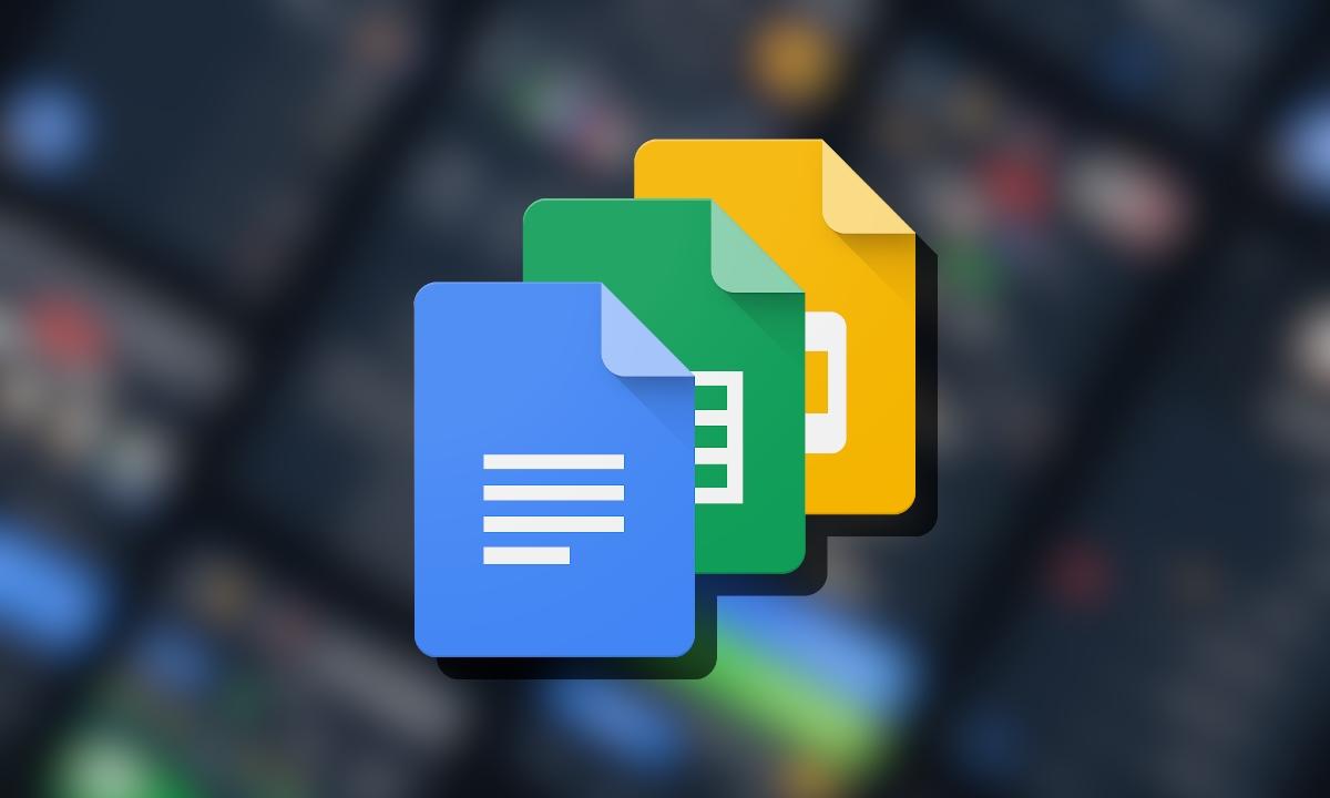 Modo oscuro en Google Docs