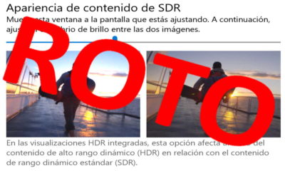 Chrome HDR no funciona en Windows 10, al menos de momento