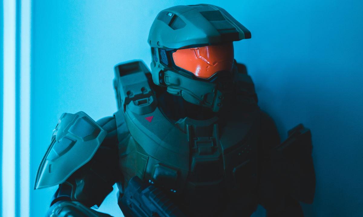 Halo 3: observa a Jefe Maestro en tercera persona