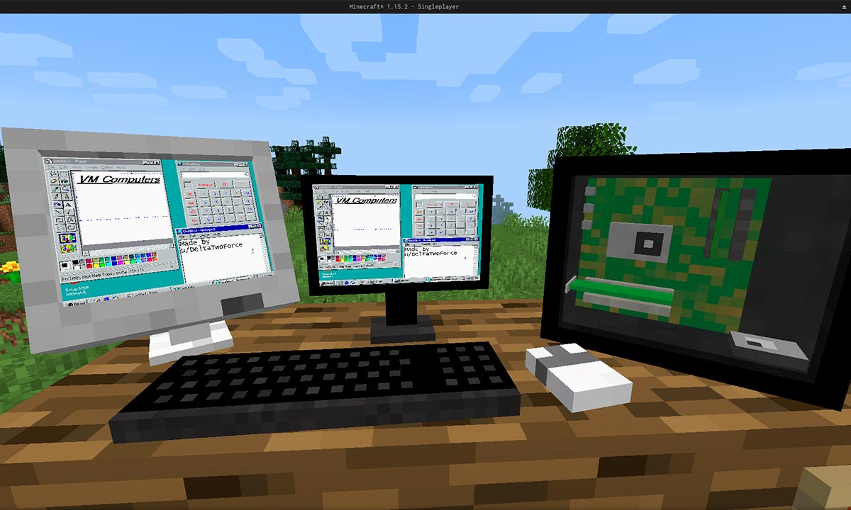 Minecraft, Windows 95 y Doom: la mezcla con la que nunca soñaste