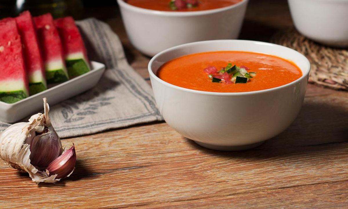 Mycook Touch receta gazpacho