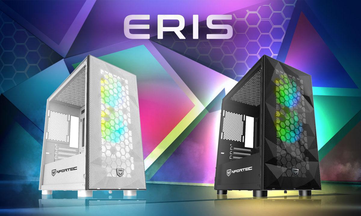 Nfortec Eris Torre Gaming RGB micro ATX