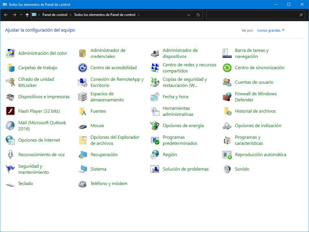 Microsoft insiste en la eliminación del panel de control de Windows 35