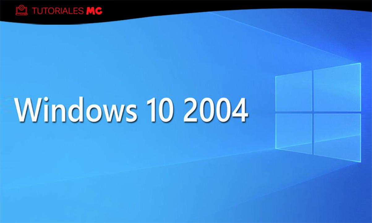 Windows 10 2004 limpio