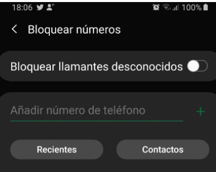 Cómo evitar llamadas telefónicas no deseadas en un smartphone Android 33