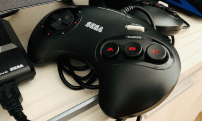 mando de control de Mega Drive