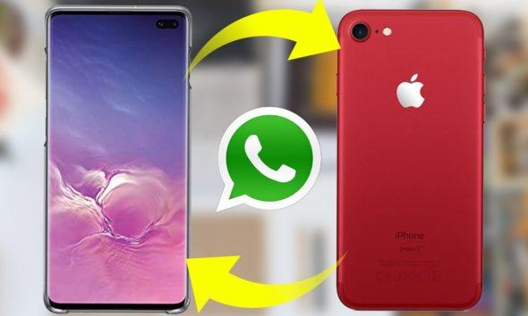 ¿Cómo transferir datos de Whatsapp entre Apple y Android?
