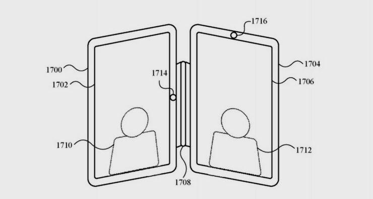 Dos iPads unidos por un adaptador, el rival de Apple para el Surface Neo 31