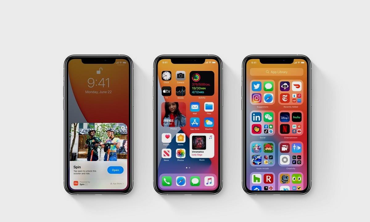 rendimiento de iOS 14
