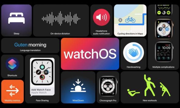 Apple Watch beta watchOs 7
