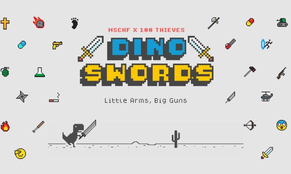 Dino Swords: el juego del dinosaurio de Chrome se revoluciona