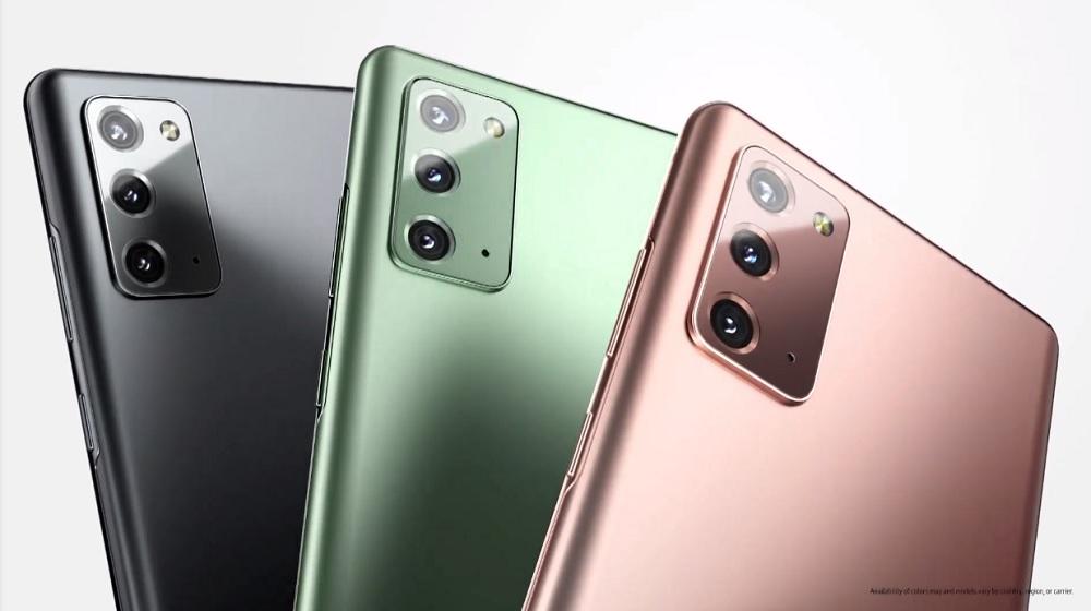 Samsung presenta los Galaxy Note 20 y Galaxy Note 20 Ultra, especificaciones y precios 36
