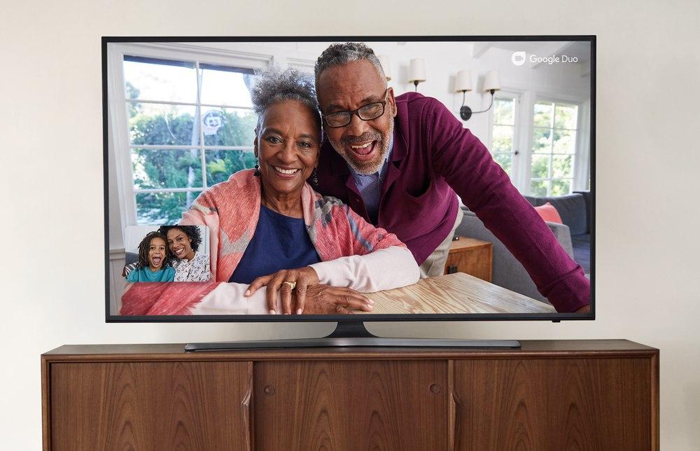 Google Duo en Android TV