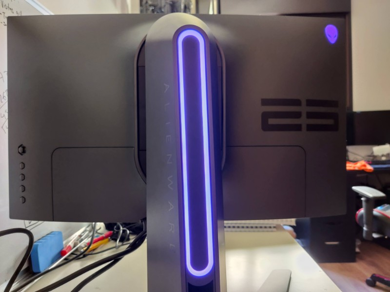 Monitor Alienware 25 Gaming 360Hz, análisis: Si fallas no será culpa del monitor 31