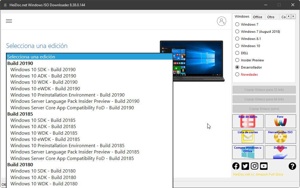 Cómo descargar cualquier imagen de Windows u Office 34