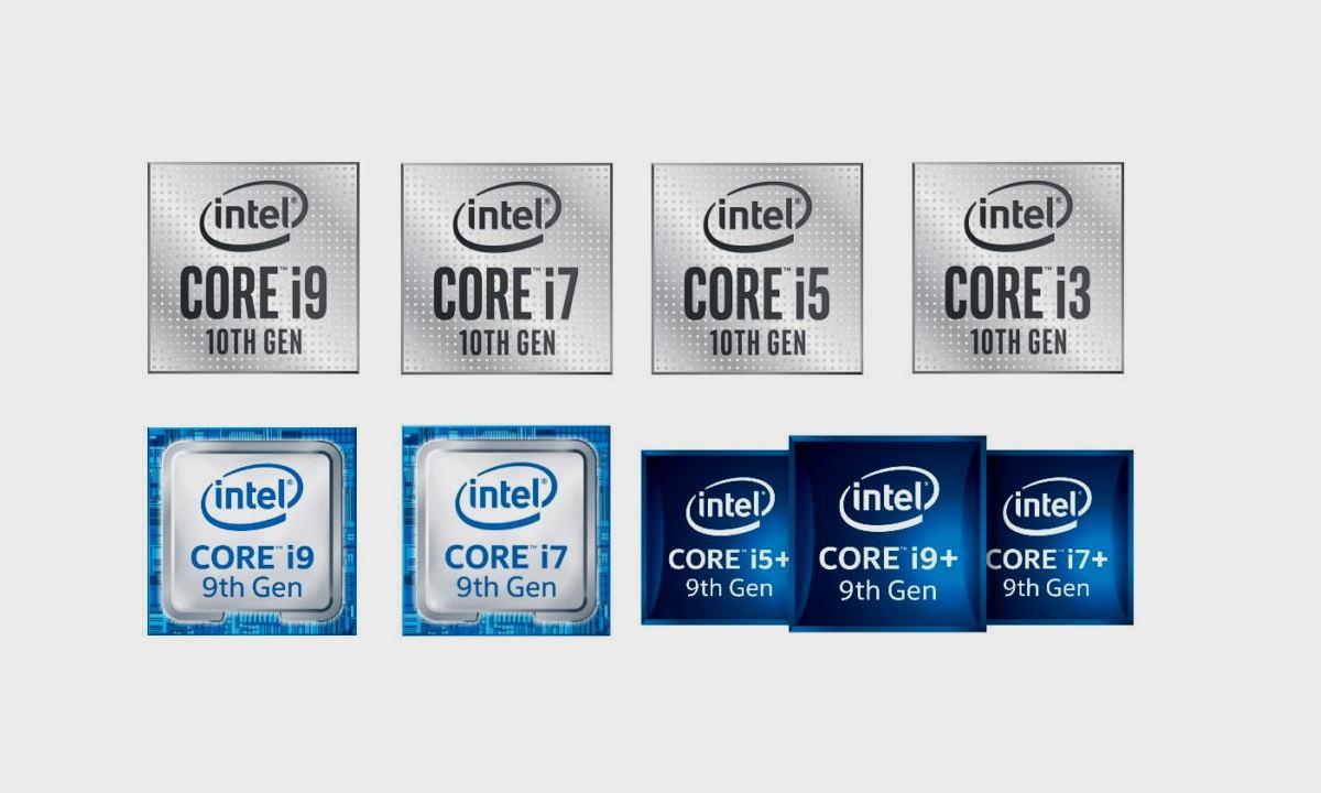 Intel nuevos logos