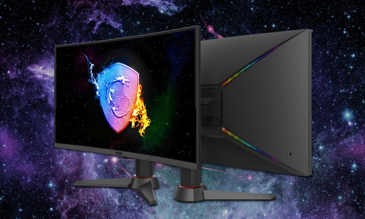 MSI Optix MAG271VCR Monitor Gaming