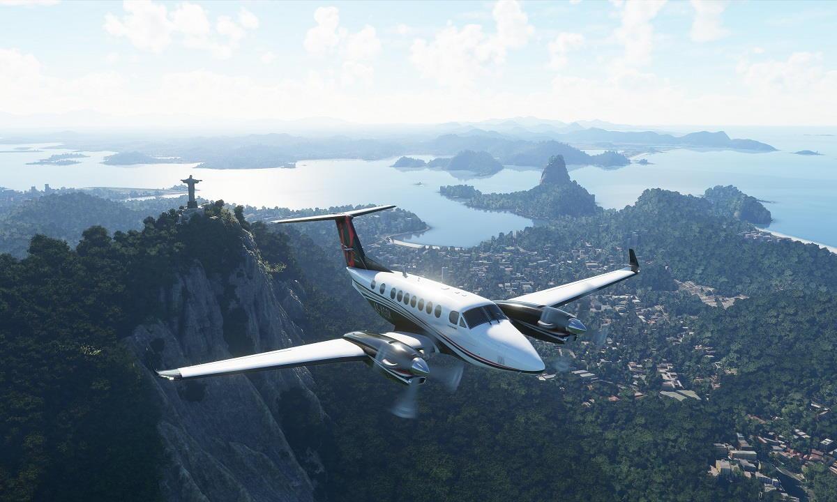 Microsoft Flight Simulator 2020 es el nuevo Crysis