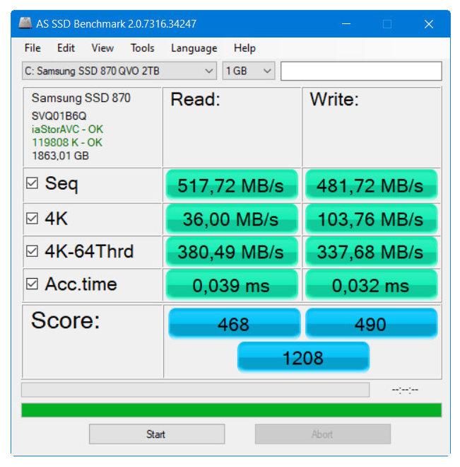 Samsung SSD 870 QVO, máxima capacidad y rendimiento SATA 40