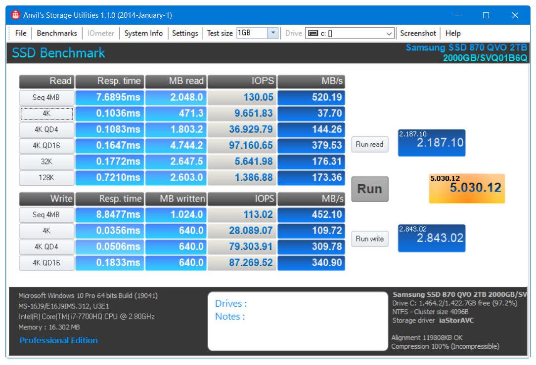 Samsung SSD 870 QVO, máxima capacidad y rendimiento SATA 42