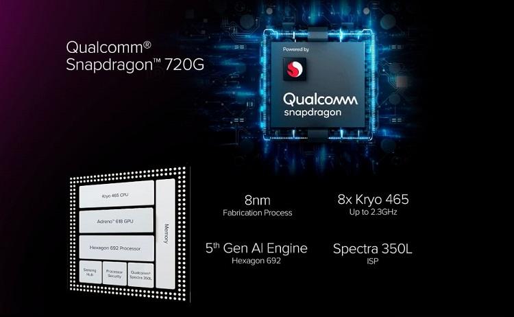 Motorola Moto G9 Plus Snapdragon 720G