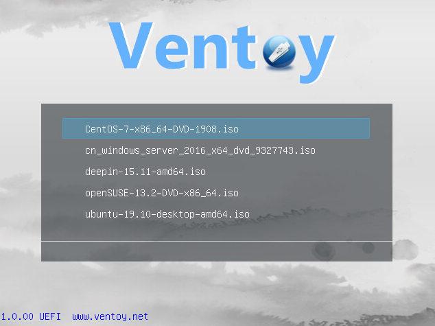 Cómo arrancar múltiples sistemas operativos desde una unidad flash USB con Ventoy 33