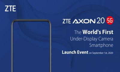 ZTE Axon 20 5G cámara bajo pantalla