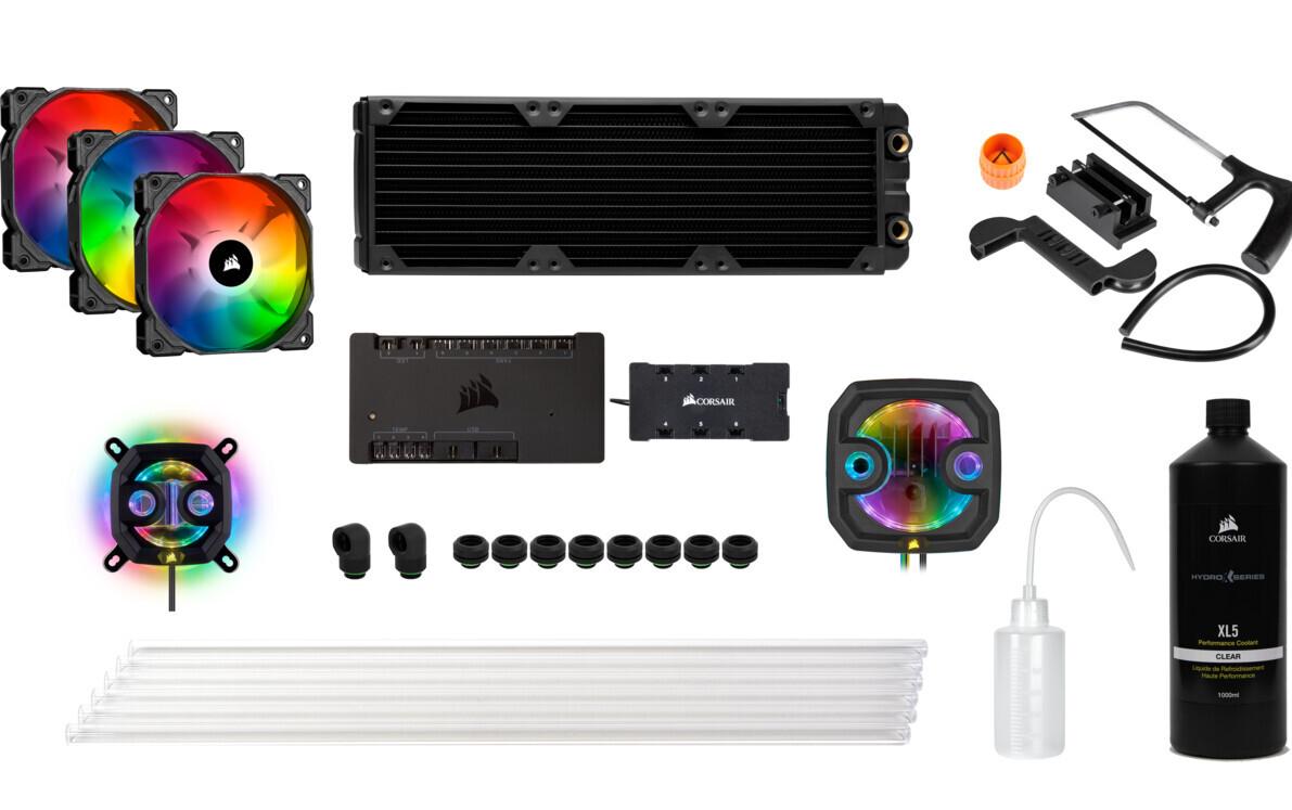kits Hydro X series iCUE