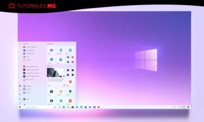 menú de inicio en Windows 10 2004