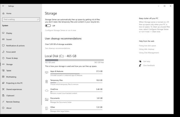 Primer vistazo al archivo de aplicaciones de Windows 10 35