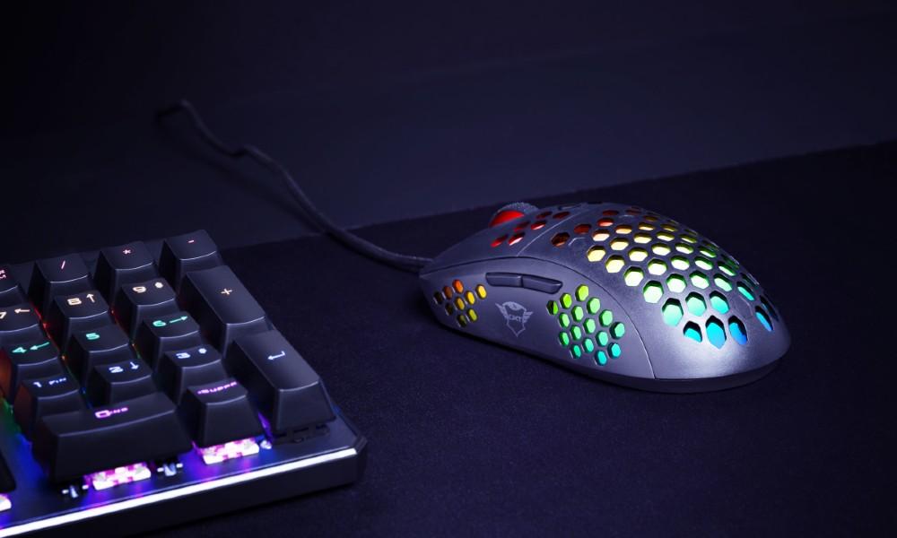 Trust presenta sus nuevos ratones RGB con botones programables 30
