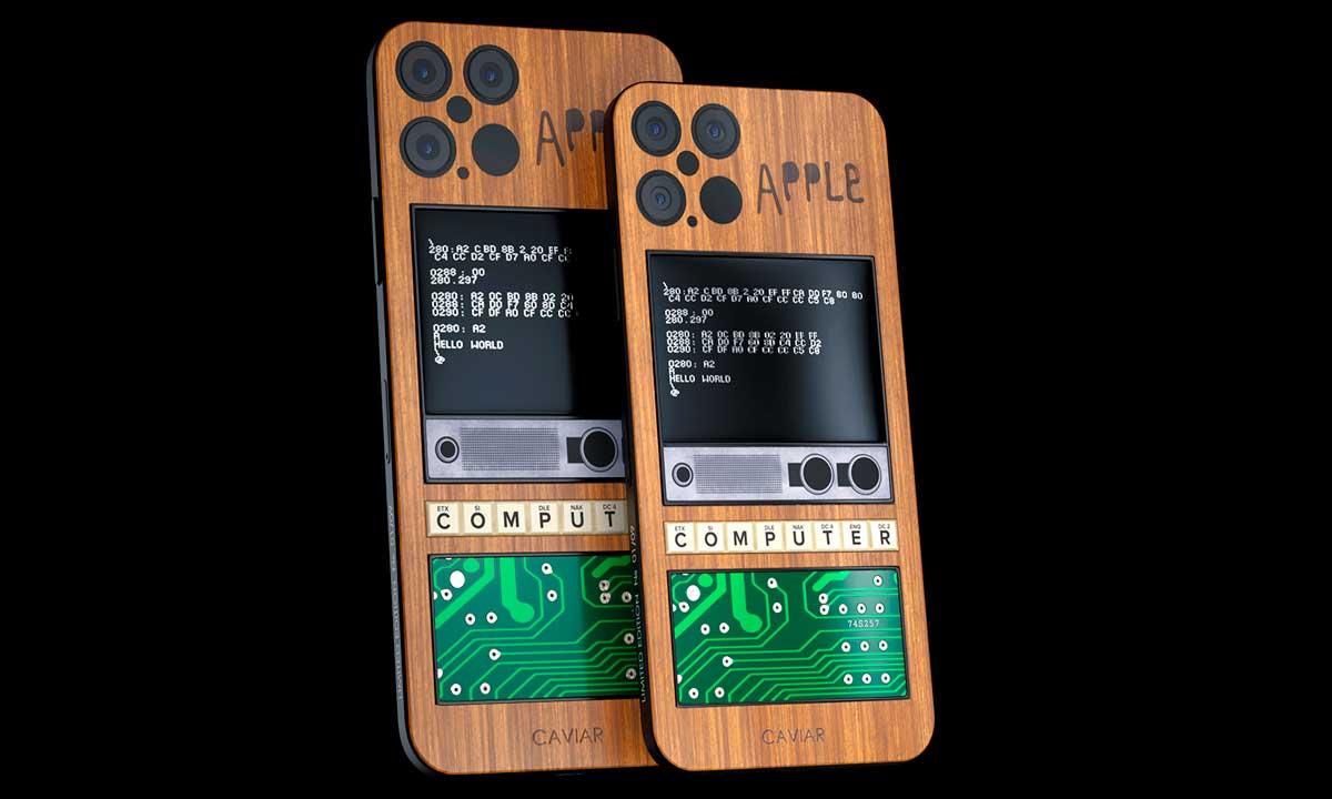 iPhone 12 con sabor a Apple 1, el último desvarío de Caviar