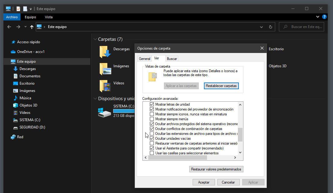 extensiones de archivos