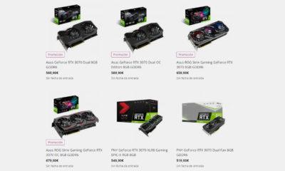 GeForce RTX 3070 Precios