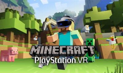 Minecraft VR PSVR PlayStation
