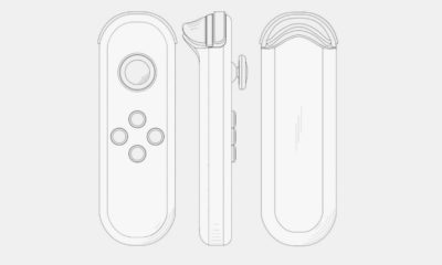Nintendo Switch 2021 Joy-Con Patente
