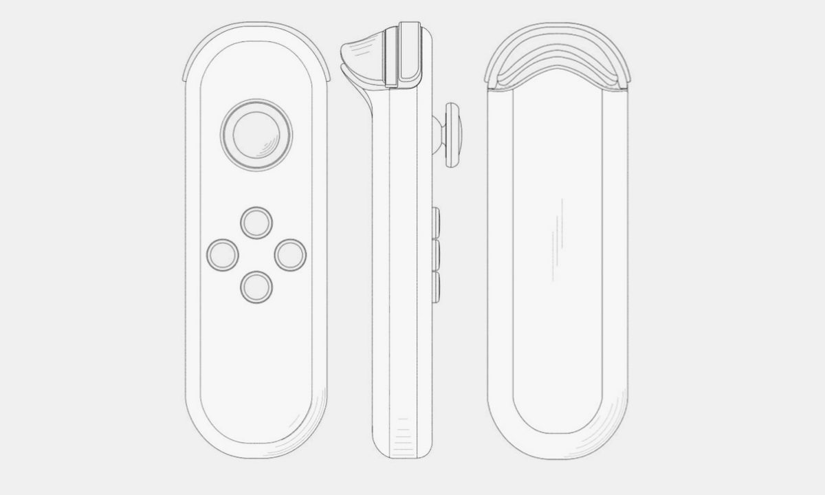 Nintendo Switch 2021 Joy-Con Patente