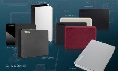 Toshiba presenta nuevos modelos de sus discos duros portátiles Canvio 35