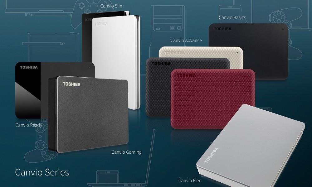 Toshiba presenta nuevos modelos de sus discos duros portátiles Canvio 32