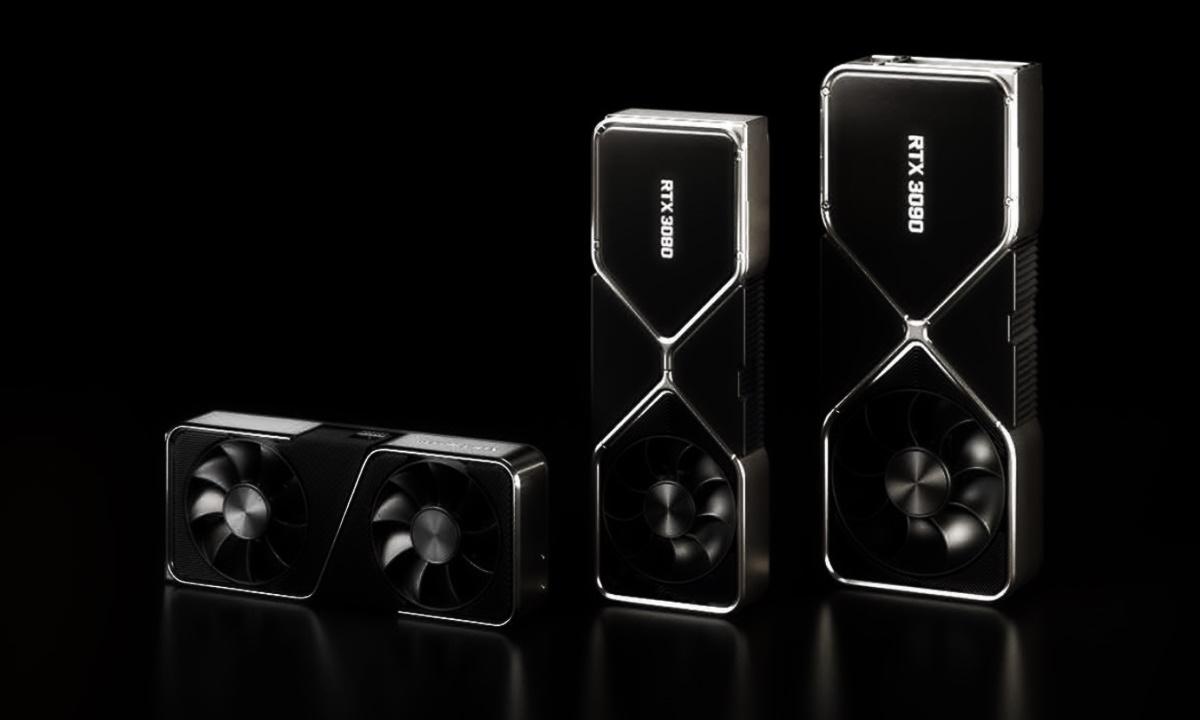 NVIDIA GeForce RTX 3090, RTX 3080 y RTX 3070
