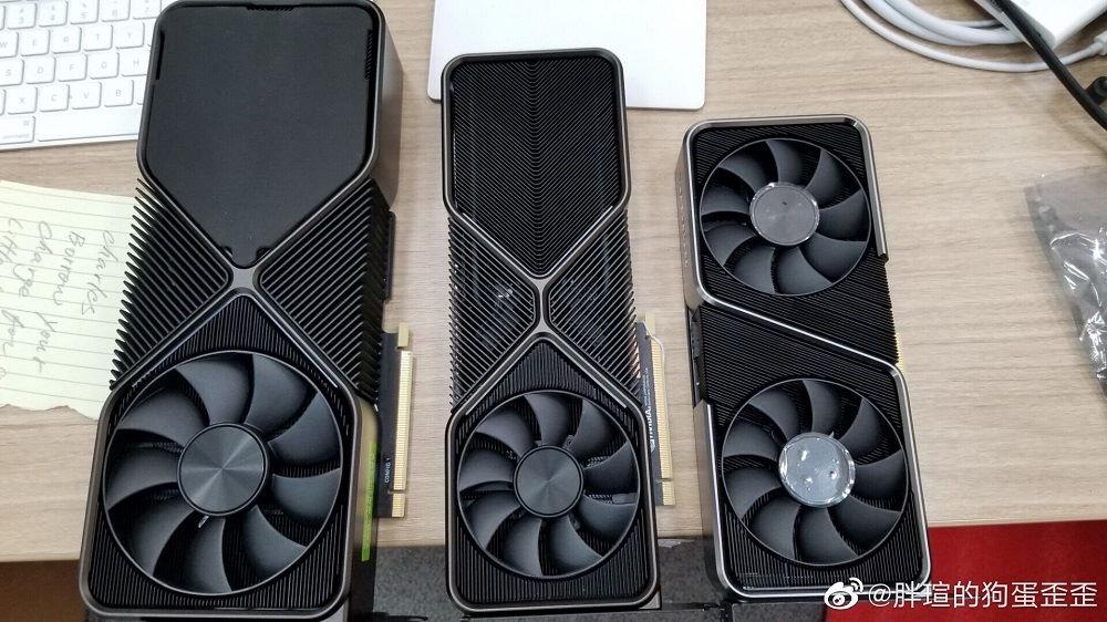 RTX 3090, RTX 3080 y RTX 3070