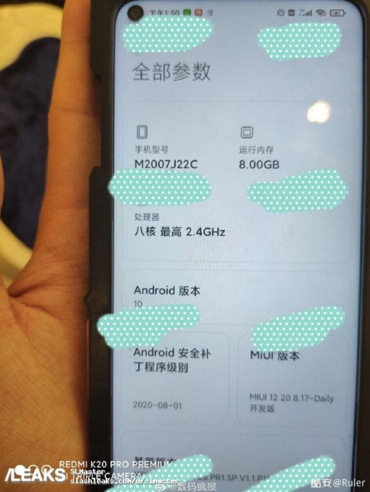 Primeros renders del Xiaomi Redmi Note 10, un gama media con Snapdragon 765G 34