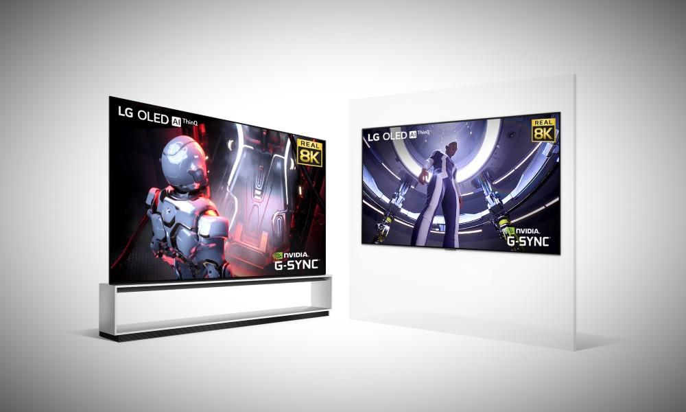 LG presenta sus nuevos OLED 8K para jugar a tope con las GeForce RTX 30 32