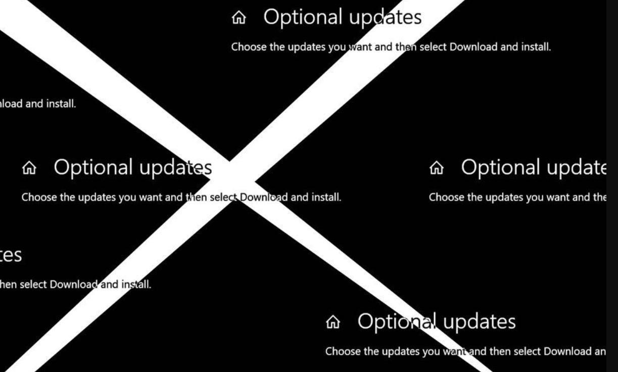 actualizaciones opcionales de Windows 10